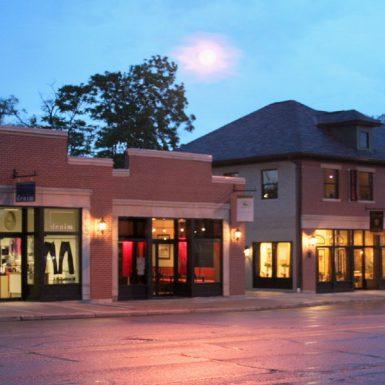 Retail buildings in Oakley