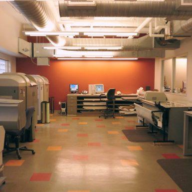 Printing clean room