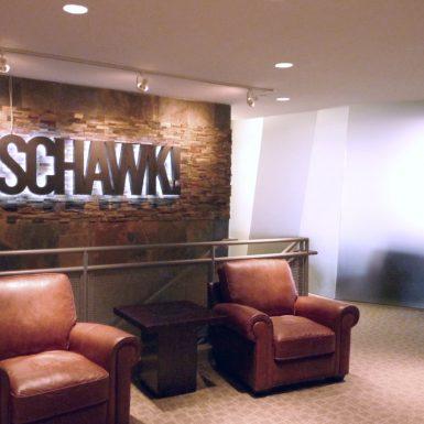 Schawk lobby