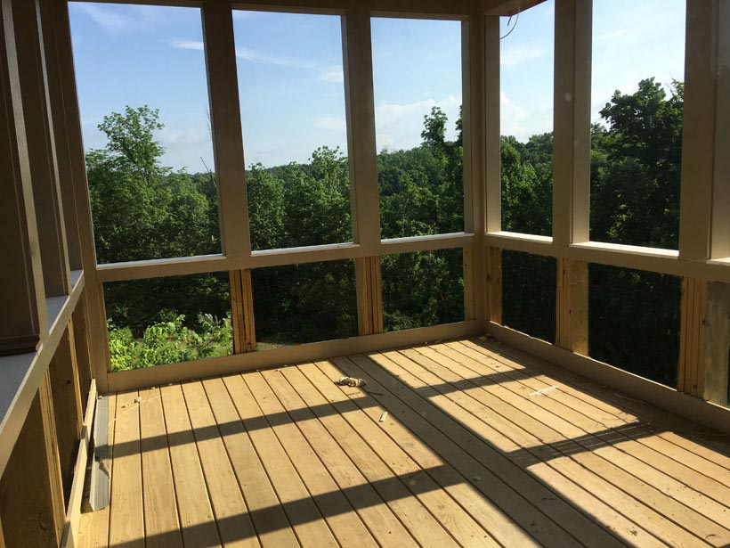 A Custom Home for a Wooded View – Update 1