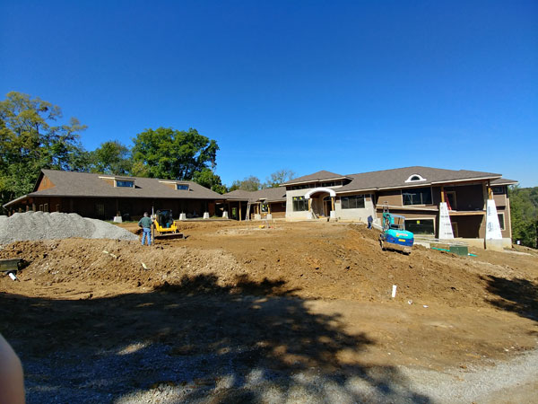 A Custom Home for a Wooded View – Update 2