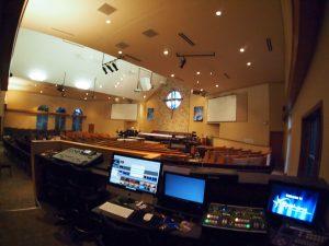Church Audio-Visual Booth